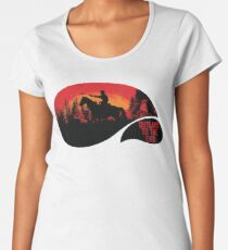 """""""Outlaws To The End""""- Red Dead Redemption 2 Women's Premium T-Shirt"""