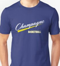 Champagne Basket 1 Blue T-Shirt