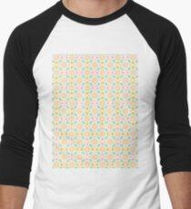 8 Bit Nude Flowers Men's Baseball ¾ T-Shirt