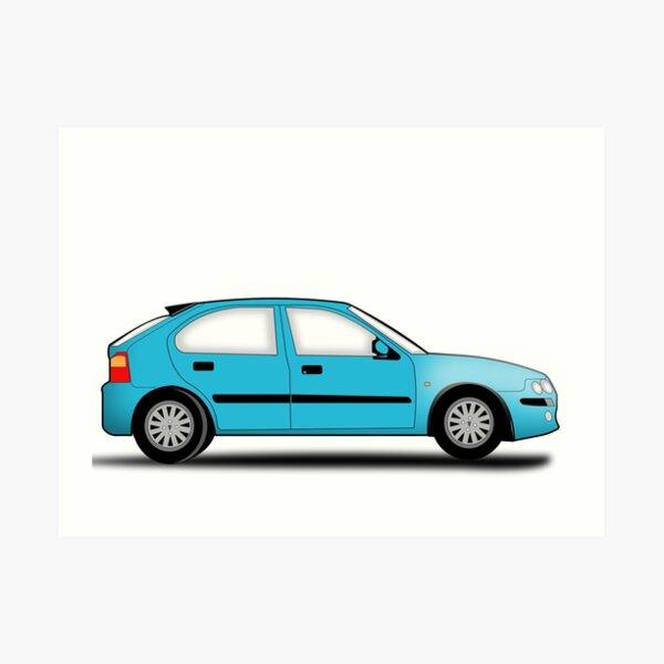 Rover 25 / MG ZR Art Print