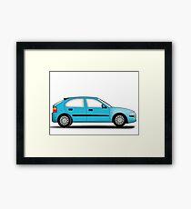 Rover 25 / MG ZR Framed Print
