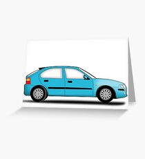Rover 25 / MG ZR Greeting Card