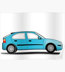Rover 25 / MG ZR Poster