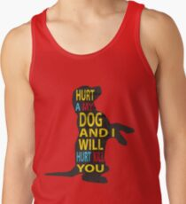 Don't hurt dogs. Tank Top