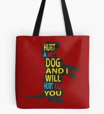 Don't hurt dogs. Tote Bag