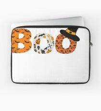Halloween Boo Fledermaus Spinne Laptoptasche
