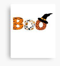 Halloween Boo Fledermaus Spinne Leinwanddruck