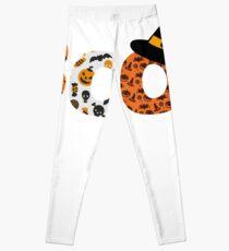 Halloween Boo Fledermaus Spinne Leggings