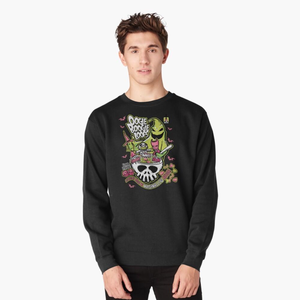Oogie Boogie Loops Pullover Sweatshirt