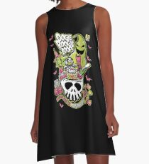 Oogie Boogie Loops A-Line Dress