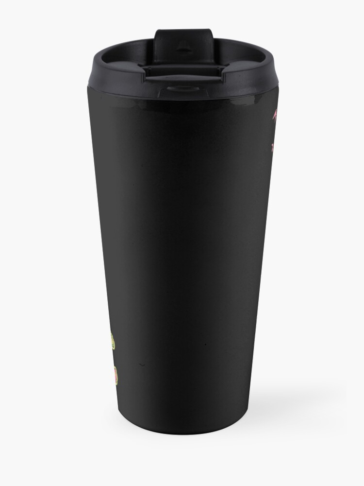Alternate view of Oogie Boogie Loops Travel Mug