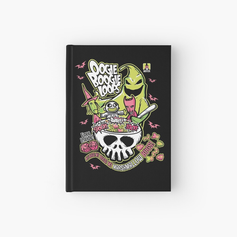 Oogie Boogie Loops Hardcover Journal