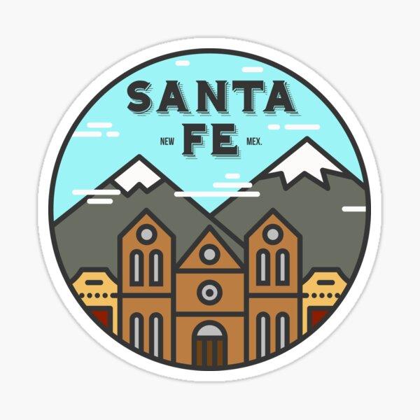 Santa Fe New Mexico - Day Sticker