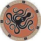 Ancient Greek Octopus by portokalis