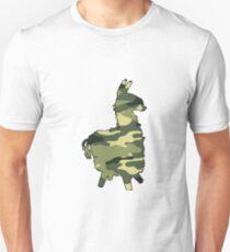 mimetic lama Slim Fit T-Shirt