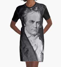 Ludwig van Beethoven Graphic T-Shirt Dress