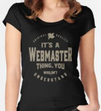 It's a Webmaster Thing Women's Fitted Scoop T-Shirt