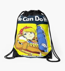 We can do it! Drawstring Bag