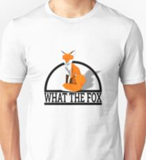 Low Poly Animals - What The Fox Unisex T-Shirt