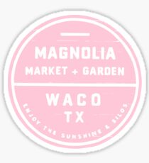 Magnolien-Markt-Rosa Sticker