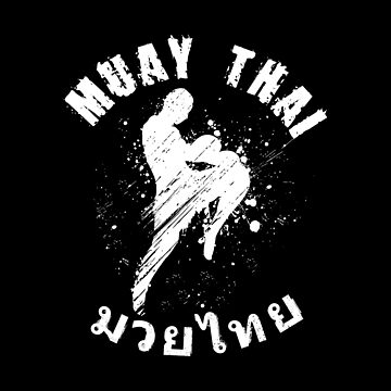 Fighter Spirit Muay Thai Kickboxing by Ding-One