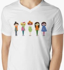 Hipster girl fashion set T-Shirt