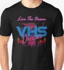 VHS Dreams Live the Dream - PALMS T-SHIRT Unisex T-Shirt