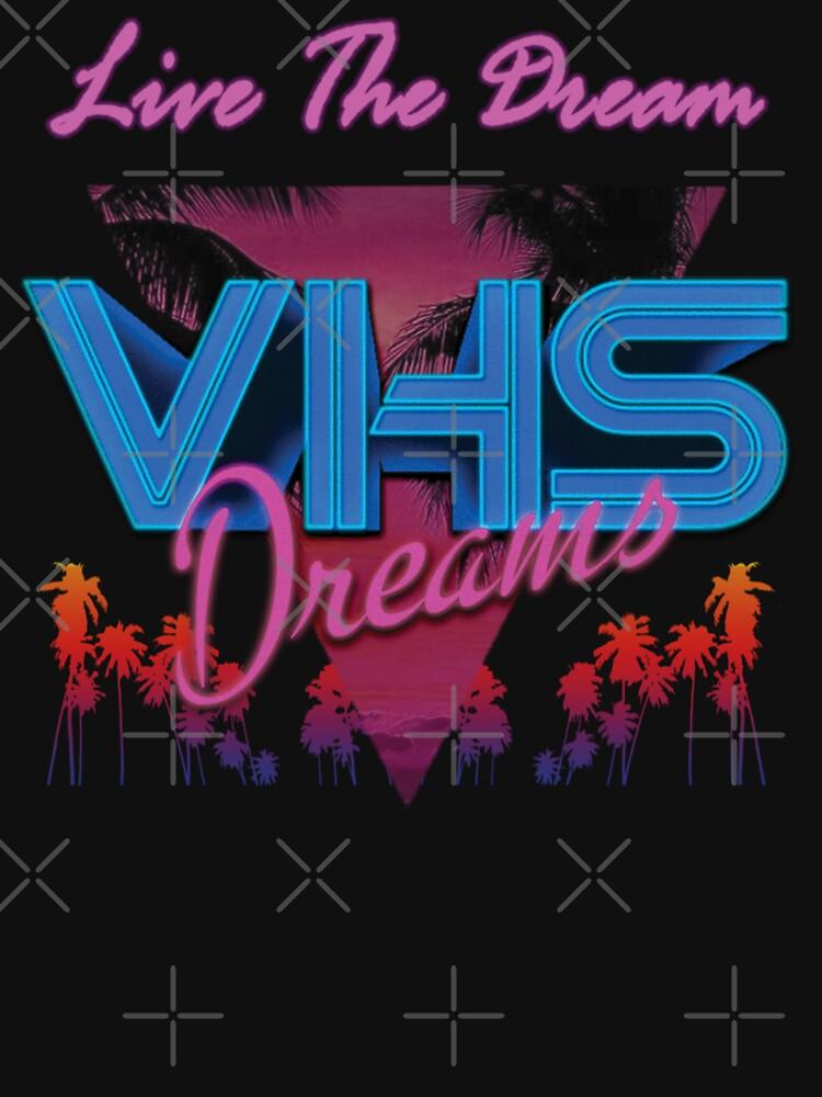 VHS Dreams Live the Dream - PALMS T-SHIRT | Unisex T-Shirt