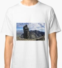 Climbers on Sgurr Dearg (the  Inaccessible Pinnacle) Classic T-Shirt