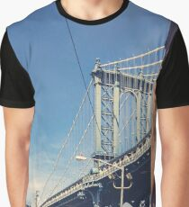 Manhattan Bridge and DUMBO Graphic T-Shirt