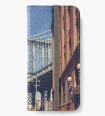 Manhattan Bridge and DUMBO iPhone Wallet/Case/Skin