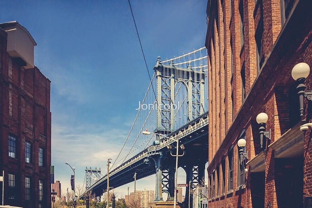 Manhattan Bridge and DUMBO by Jonicool