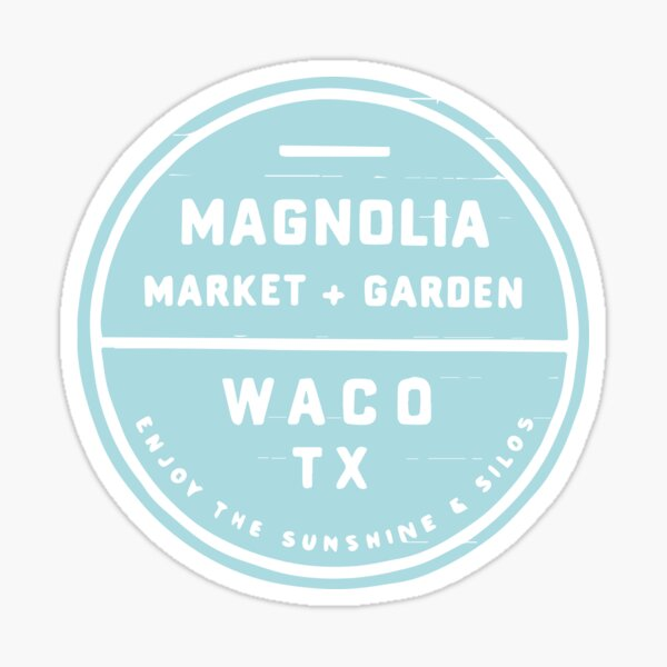 Magnolia Market Blue Sticker
