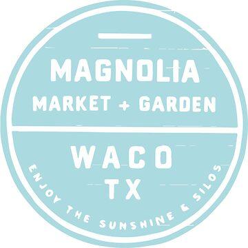 Magnolia Market Blue by magdalayna