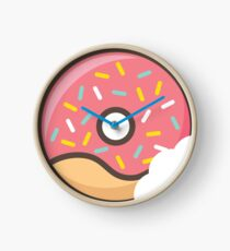 I Donut Love You Clock