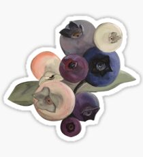 Maine Blueberries Sticker