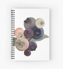 Maine Blueberries Spiral Notebook