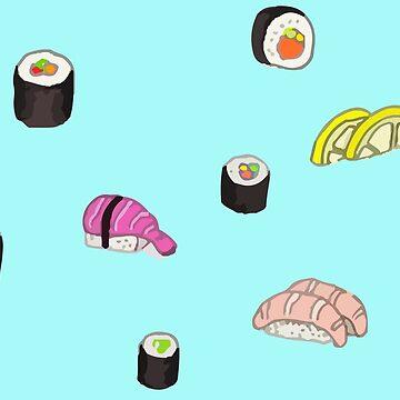 Sushi by WishingInkwell