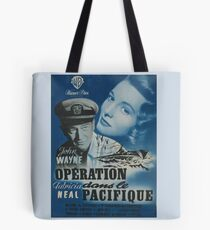 Operation Pacific Poster In French Tote Bag