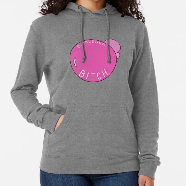 Pussy Deluxe Classic Fluffy Hoodie cream//pink