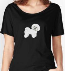 Bichon Frise dog Women's Relaxed Fit T-Shirt