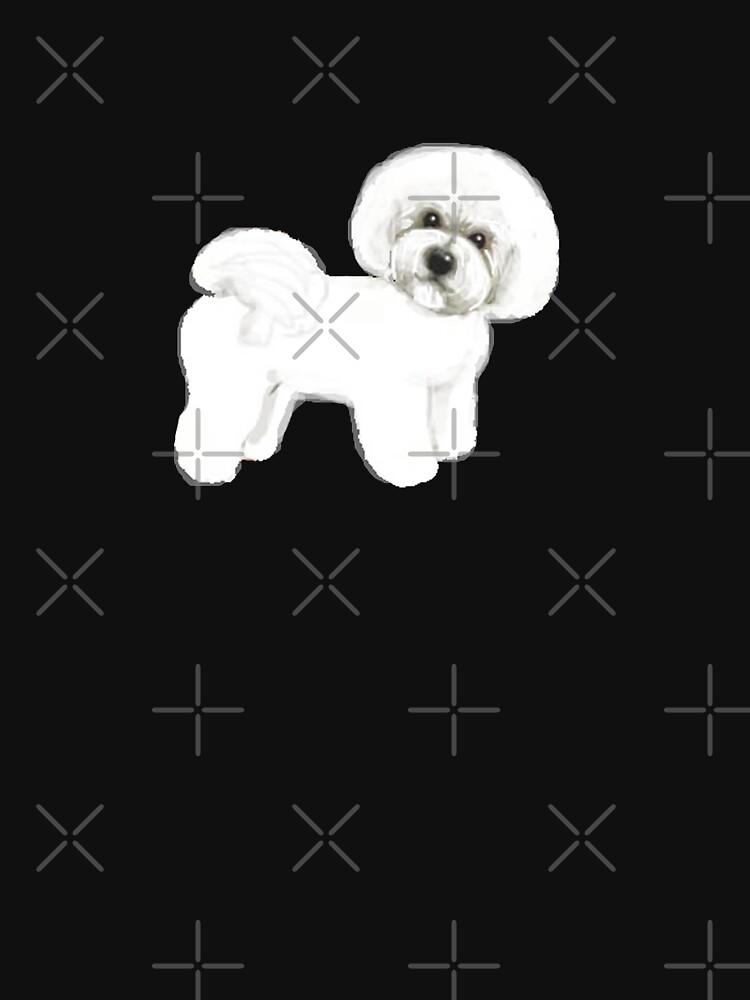 Bichon Frise dog by MagentaRose