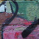 Grafitti on Mural by Lynn Moore