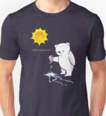 Global Warming Sucks Polar Bear Unisex T-Shirt