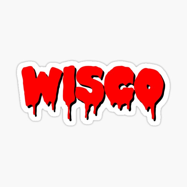Wisco Drip Sticker