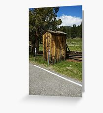 Road Relief! Greeting Card