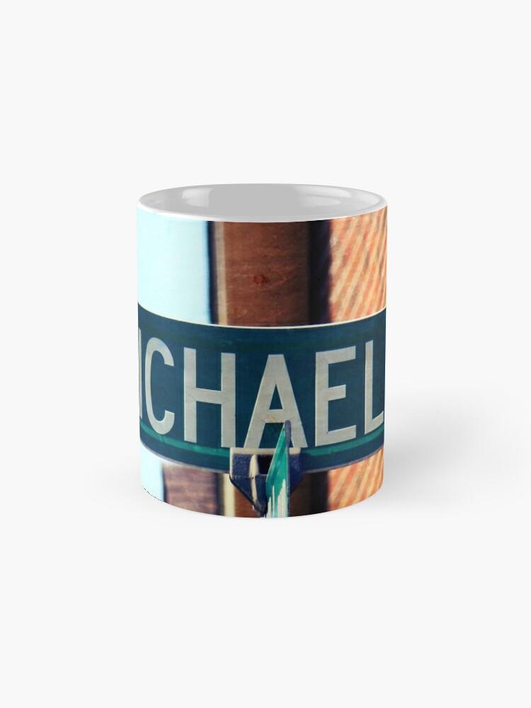 Alternate view of Michael  Mug