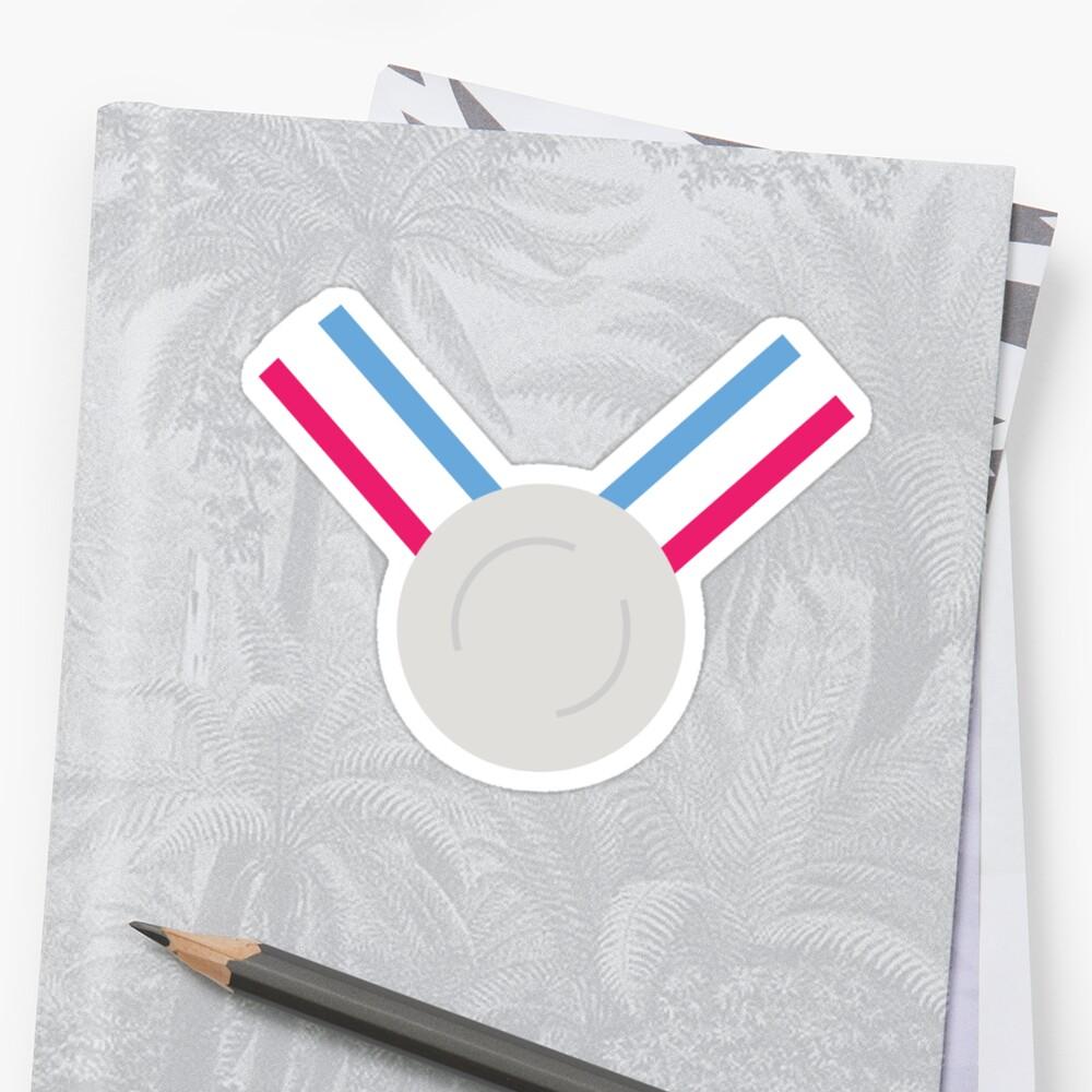 Für das Silber (Medaille)! - Olympische Spiele Tokio 2022 Sticker