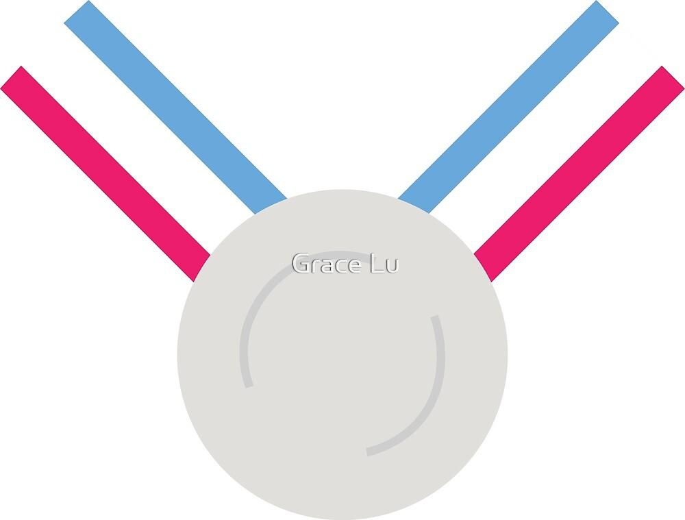 Für das Silber (Medaille)! - Olympische Spiele Tokio 2022 von Grace Lu