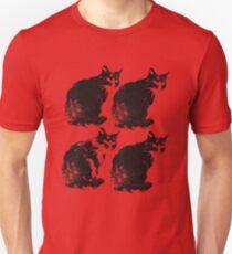cat cat cat cat Unisex T-Shirt